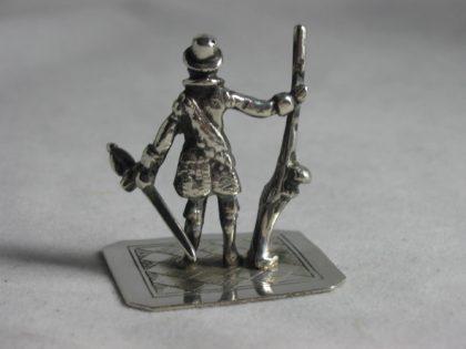 IMG 5931 420x315 - Miniatuur soldaat met musket