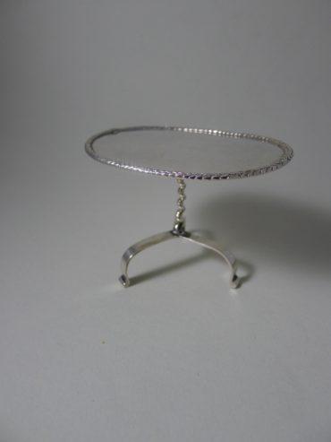 P1280477 370x493 - Zilver Miniatuur tafeltje ( Verkocht )